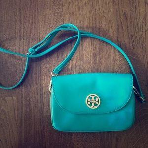 Tory Burch purse! Tiffany Blue!